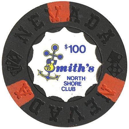 North Shore Club $100 (Smith's) chip - Spinettis Gaming - 1