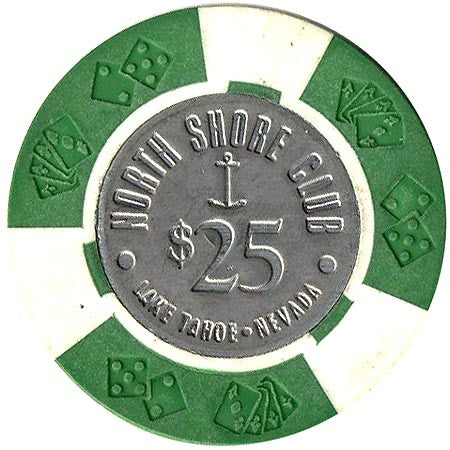 North Shore Club $25 (green) chip