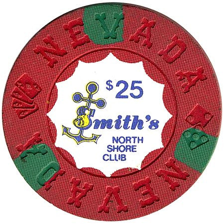 North Shore Club $25 (red) chip