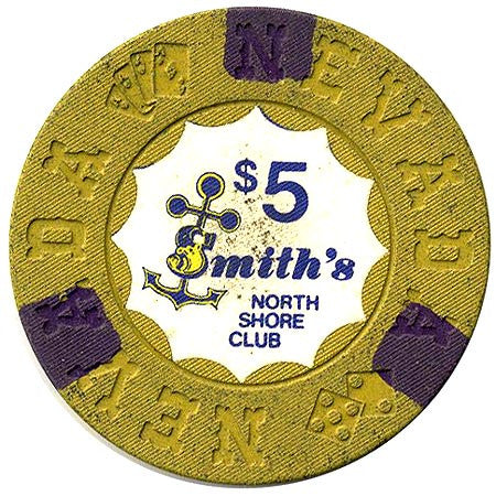 North Shore Club $5 (yellow) chip