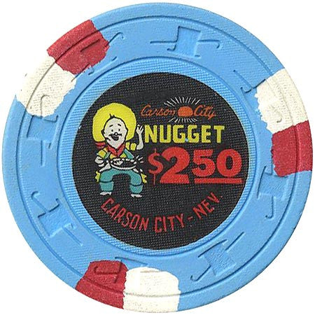Nugget $2.50 (blue) chip