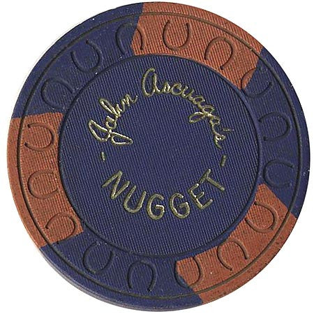 Nugget (John Ascuaga) (blue) chip - Spinettis Gaming - 1