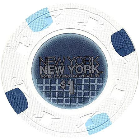 New York-New York, Las Vegas NV $1 Casino Chip - Spinettis Gaming - 1
