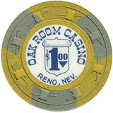 Oak Room Casino $1 chip - Spinettis Gaming - 2