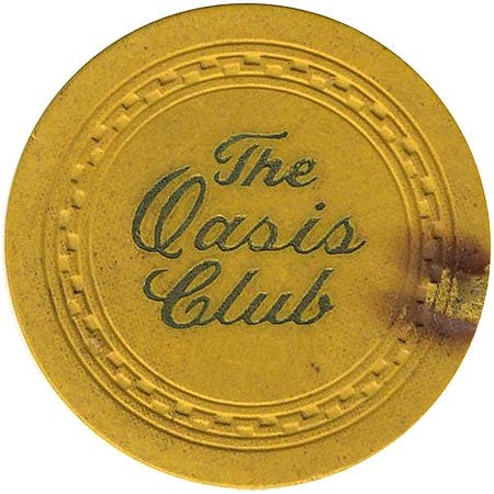 The Oasis Club (yellow) chip