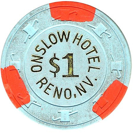 Onslow Casino Reno NV $1 Chip 1989