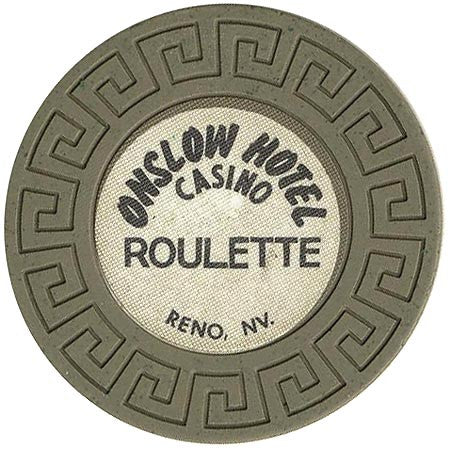 Onslow Casino Roulette (olive) chip