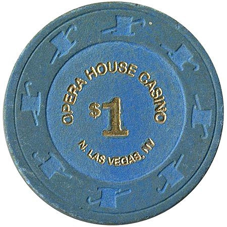 Opera House Casino $1 chip