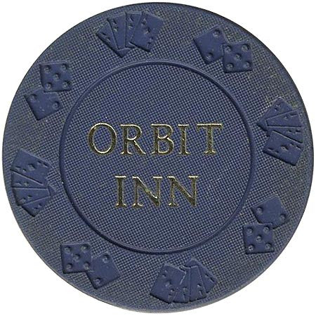 Orbit Inn (blue) chip - Spinettis Gaming