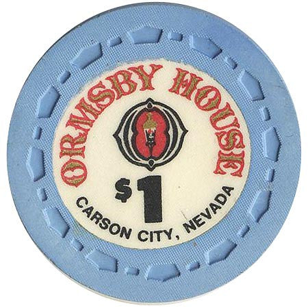 Ormsby House $1 (blue) chip - Spinettis Gaming - 1