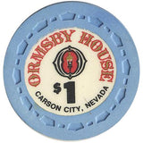 Ormsby House $1 (blue) chip - Spinettis Gaming - 2
