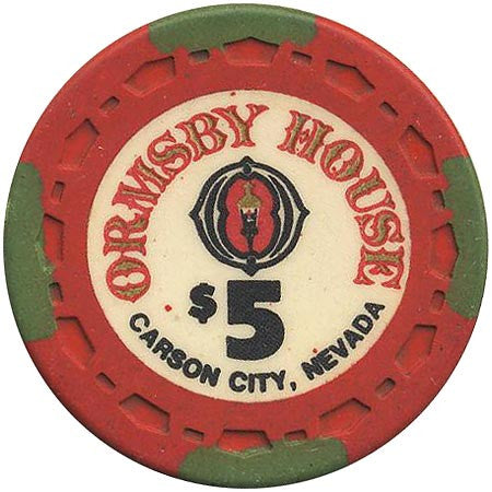 Ormsby House $5 chip - Spinettis Gaming - 1