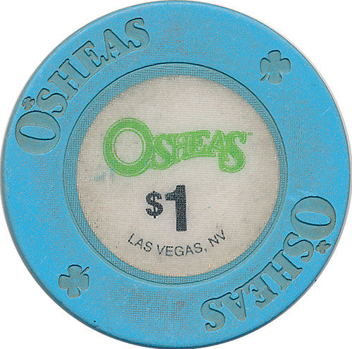 Osheas, Las Vegas NV $1 Casino Chip - Spinettis Gaming - 1