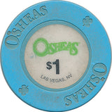 Osheas, Las Vegas NV $1 Casino Chip - Spinettis Gaming - 2