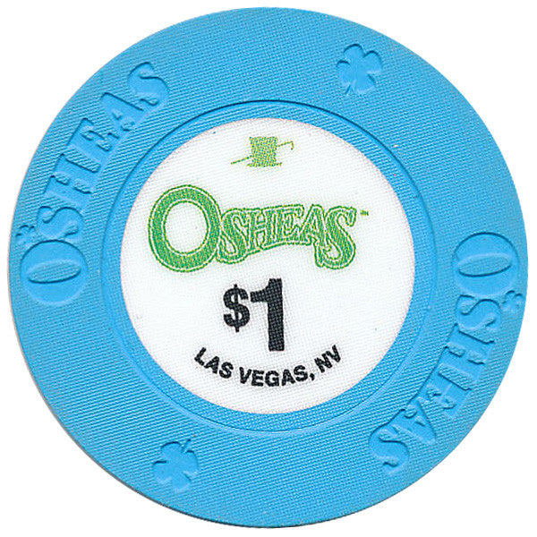 Osheas (Hat & Cane), Las Vegas NV $1 Casino Chip - Spinettis Gaming - 1