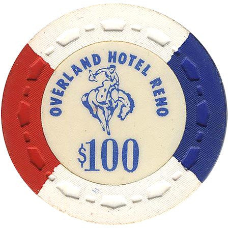 Overland Hotel $100 chip - Spinettis Gaming - 1
