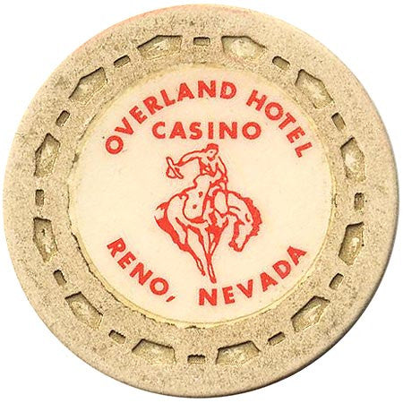 Overland Hotel (beige) chip - Spinettis Gaming - 1