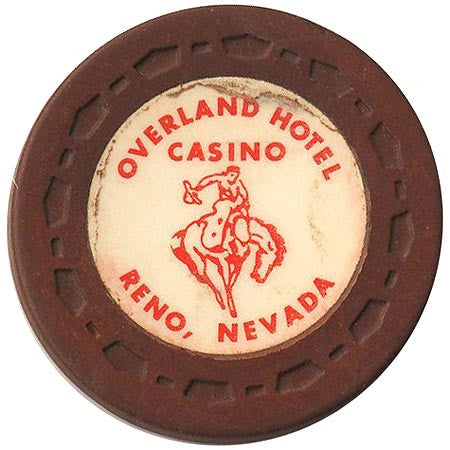 Overland Hotel (brown) chip - Spinettis Gaming - 1