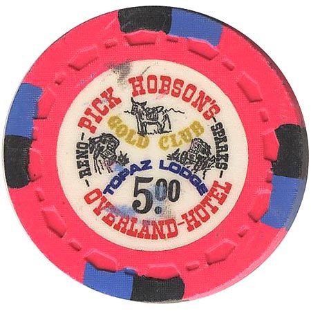 Overland Hotel (hot pink) chip - Spinettis Gaming