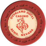 Overland Hotel (red) chip - Spinettis Gaming - 1
