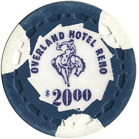 Overland Hotel $20 chip - Spinettis Gaming