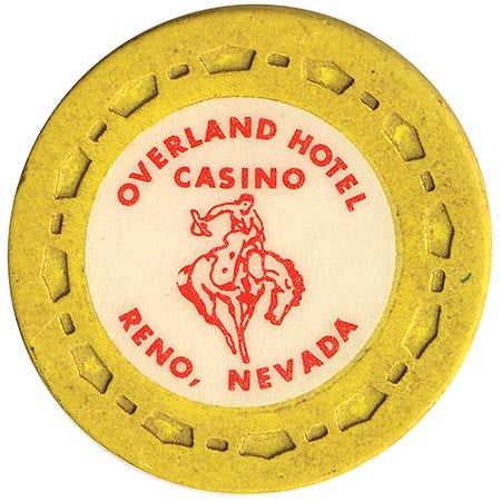 Overland Hotel (yellow) chip - Spinettis Gaming - 1