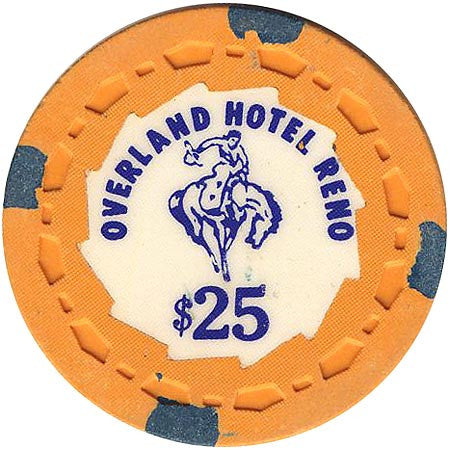Overland Hotel $25 chip - Spinettis Gaming - 1
