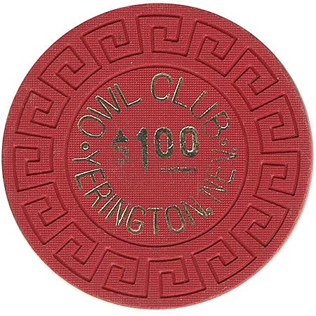 Owl Club $1 chip