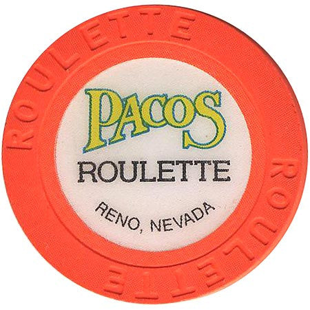 Pacos (roulette) (orange) chip - Spinettis Gaming - 1