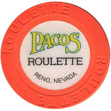 Pacos (roulette) (orange) chip - Spinettis Gaming - 2