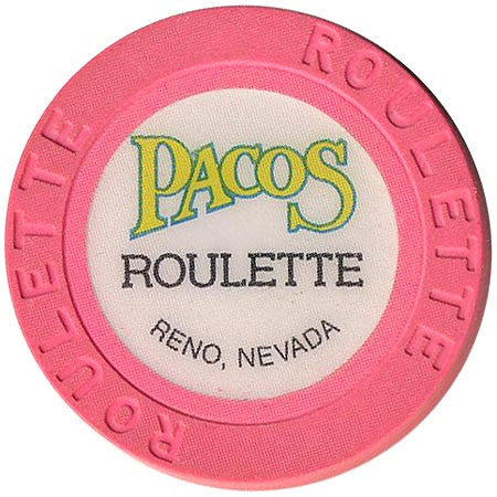 Pacos (roulette) (pink) chip