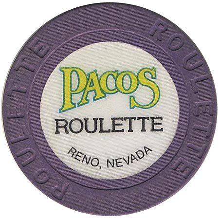 Pacos (roulette) (purple) chip - Spinettis Gaming - 1
