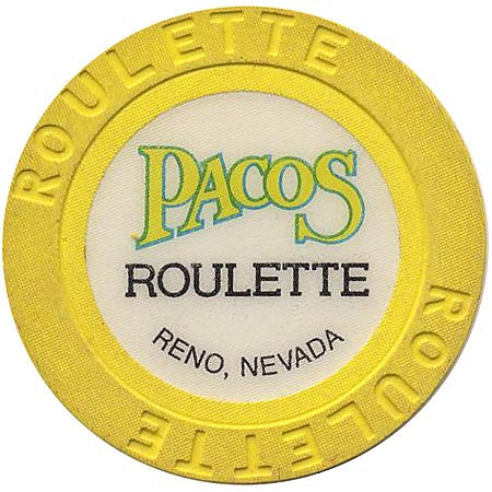 Pacos (roulette) (yellow) chip