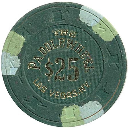 Paddle Wheel Casino Las Vegas NV $25 Chip 1983