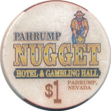 Pahrump Nugget, Pahrump NV $1 Casino Chip - Spinettis Gaming - 2
