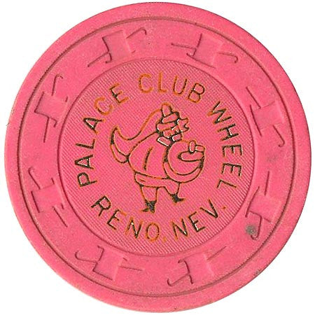 Palace Club (pink) chip - Spinettis Gaming - 1