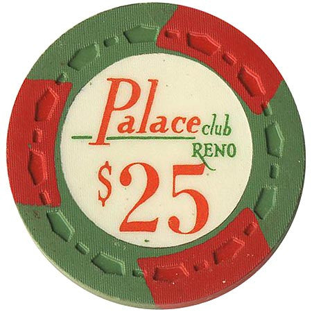 Palace Club $25 (green) chip - Spinettis Gaming - 1