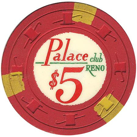 Palace Club $5 (red) chip - Spinettis Gaming - 1