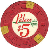 Palace Club $5 (red) chip - Spinettis Gaming - 2