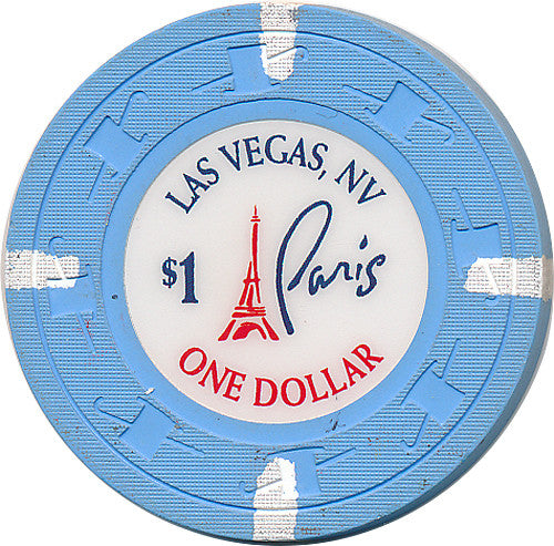 Paris, Las Vegas NV $1 Casino Chip - Spinettis Gaming - 1