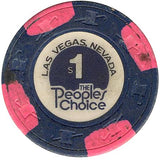 The People Choice $1 chip - Spinettis Gaming - 2