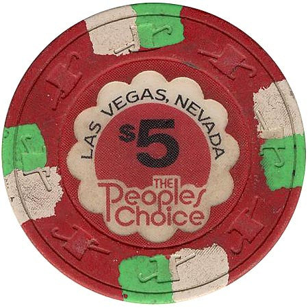 The People Choice $5 chip