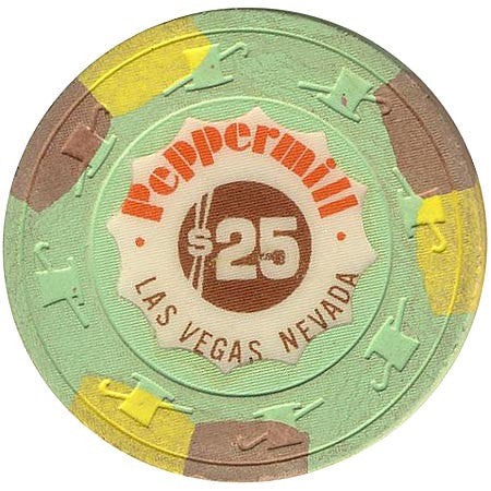 Peppermill Casino Las Vegas NV $25 Chip 1982