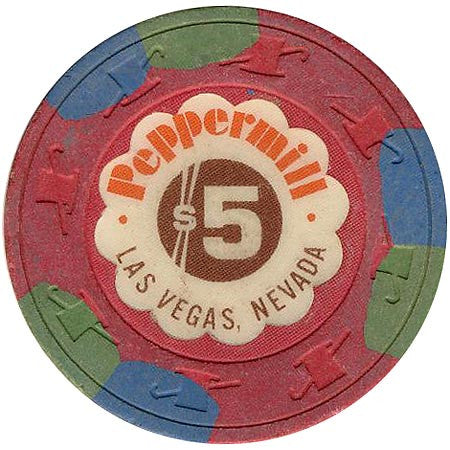 Peppermill $5 chip
