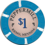 Peppermill, Reno NV $1 Casino Chip - Spinettis Gaming - 1
