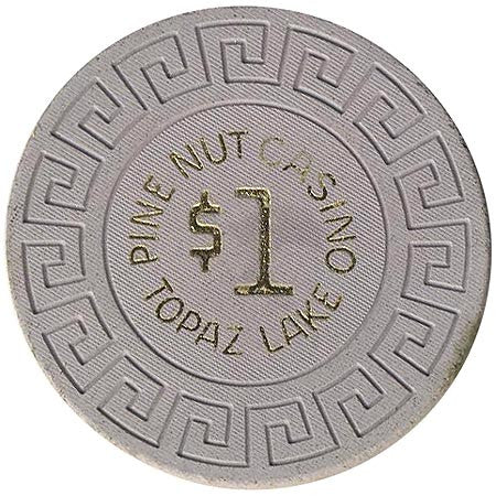Pine Nut Casino Topaz Lake NV $1 Chip 1968