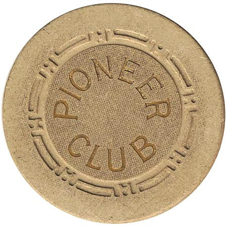 Pioneer Club (beige) chip - Spinettis Gaming - 2