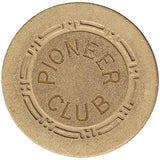 Pioneer Club (beige) chip - Spinettis Gaming - 1