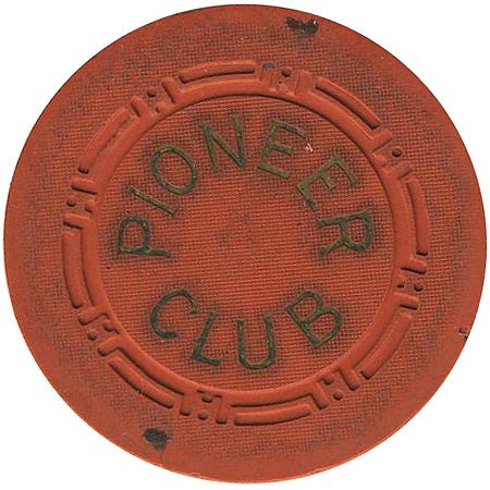 Pioneer Club (orange) chip - Spinettis Gaming - 1