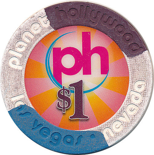 Planet Hollywood, Las Vegas NV $1 Casino Chip - Spinettis Gaming - 2